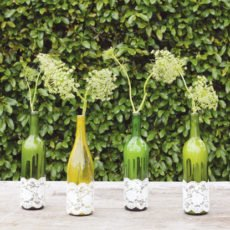 wine bottle centerpiece diy tutorial