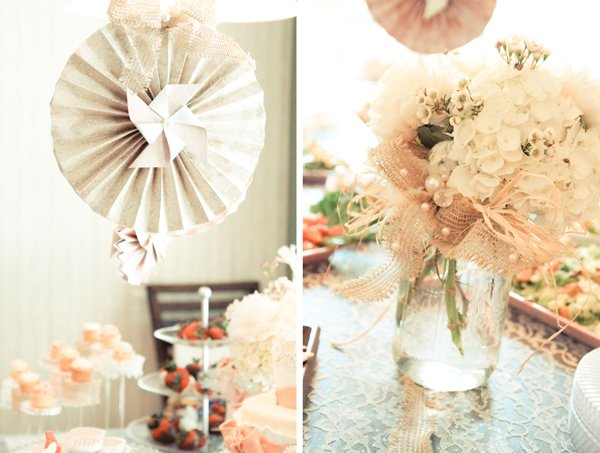 Charming Rustic Shabby Chic Bridal Shower Hostess With The MostessR