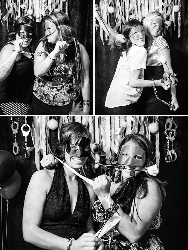50 shades of grey photobooth