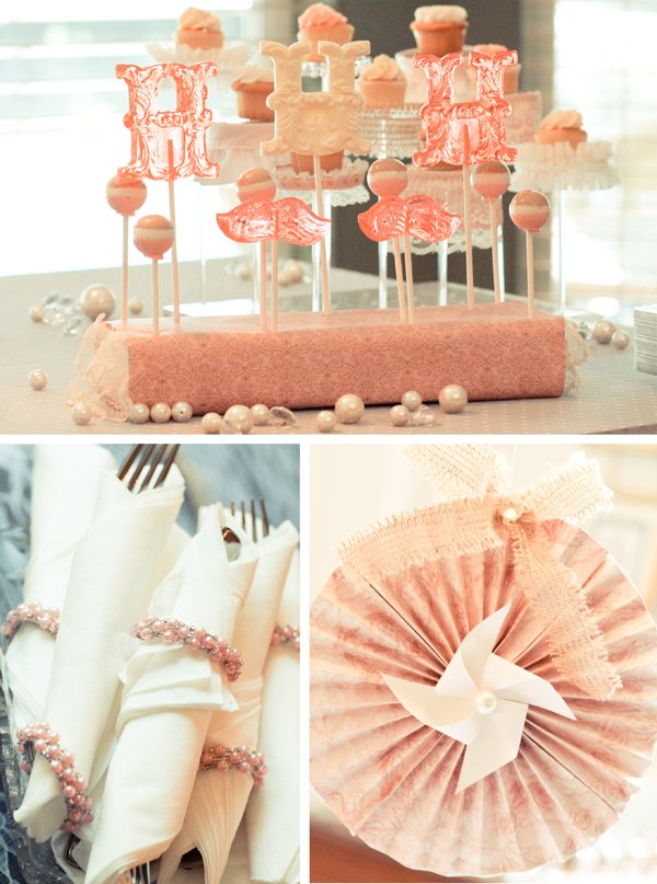 Dessert Table and Shower Decor