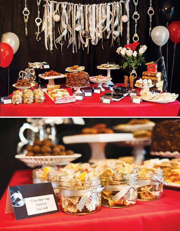 50 Shades of Grey Party {Adult Birthday} // Hostess with the ...