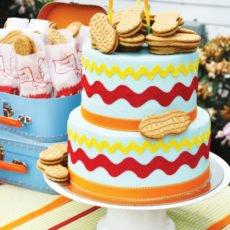 Dumbo peanut birthday cake