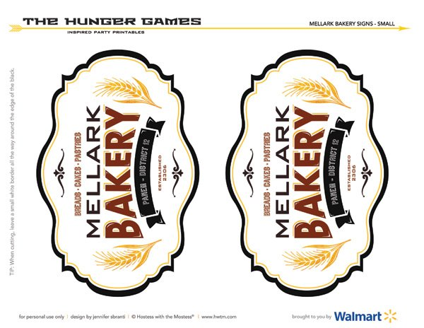 hunger games peeta mellark bakery sign