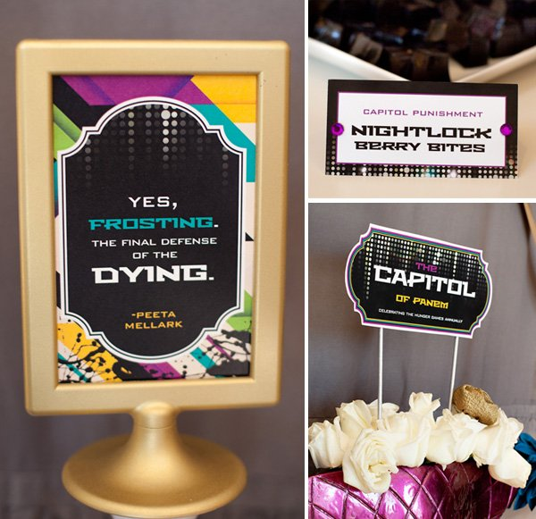 free printables - hunger games capitol inspired