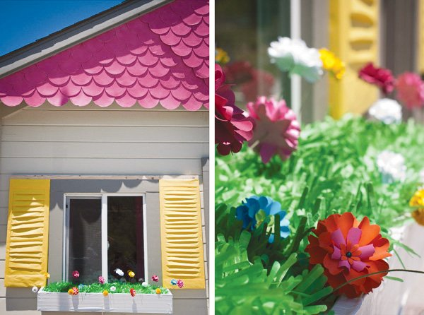 paper dollhouse theme party