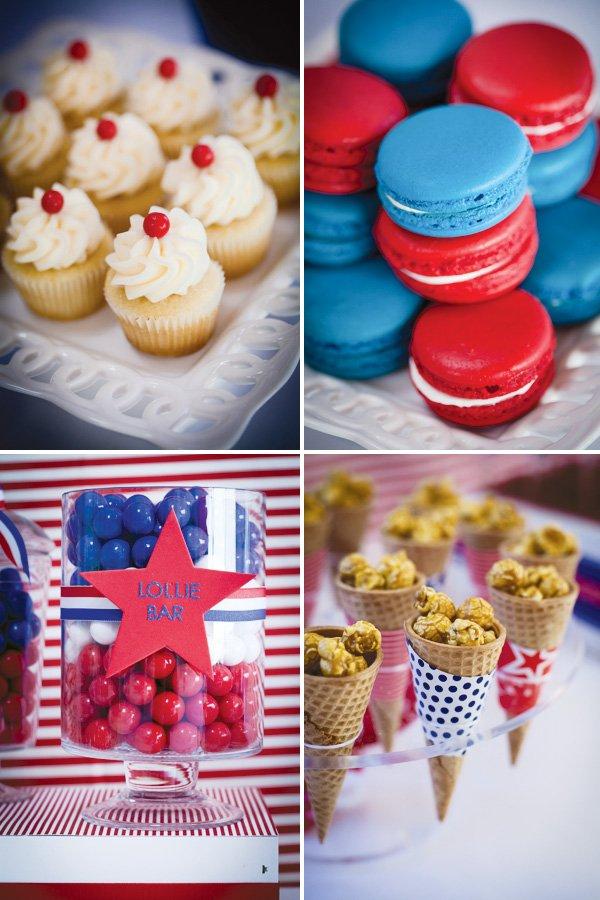 patriotic inspired dessert