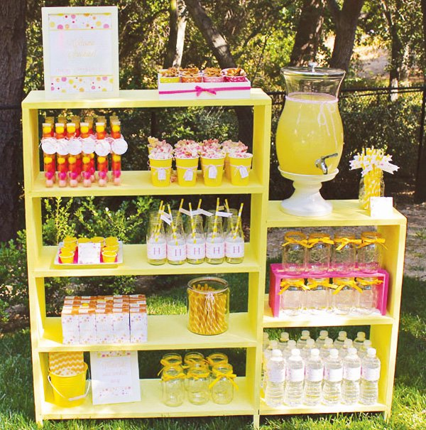 sunshine party stand