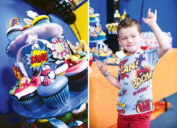 superhero fifth birthday party