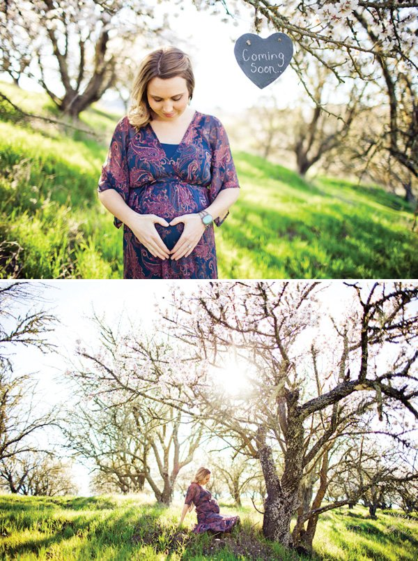 baby shower ideas for a maternity photo shoot
