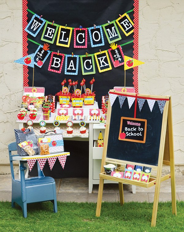 Back to School Party Ideas {+ FREE Printables} // Hostess ...