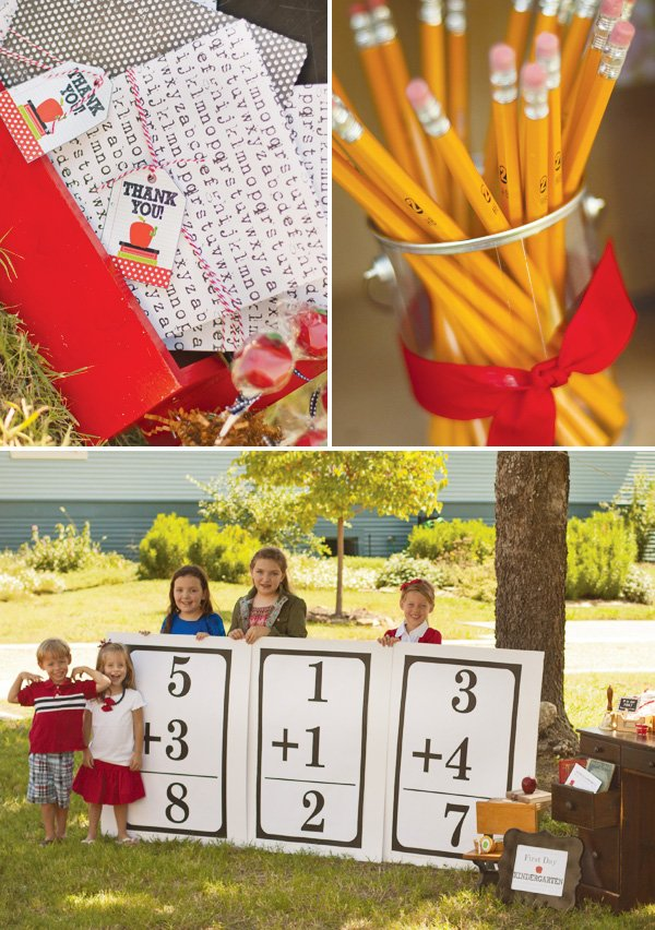 back to school party favors
