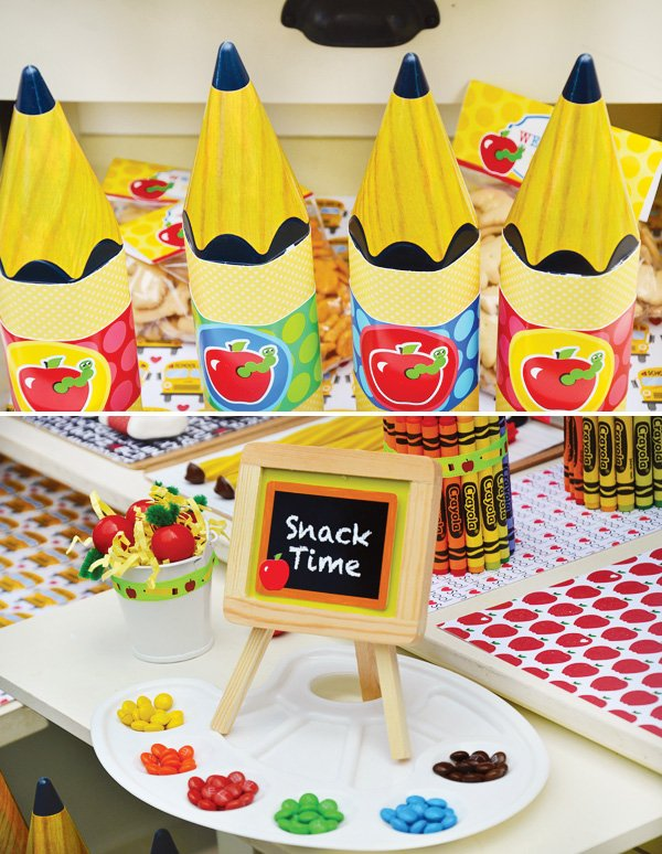 Back To School Party Ideas Free Printables Hostess With The
