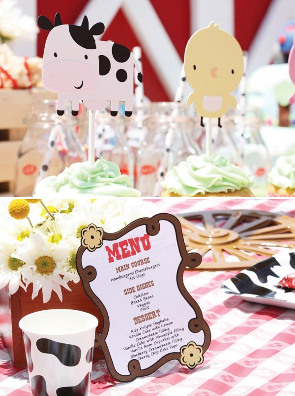 barn party menu