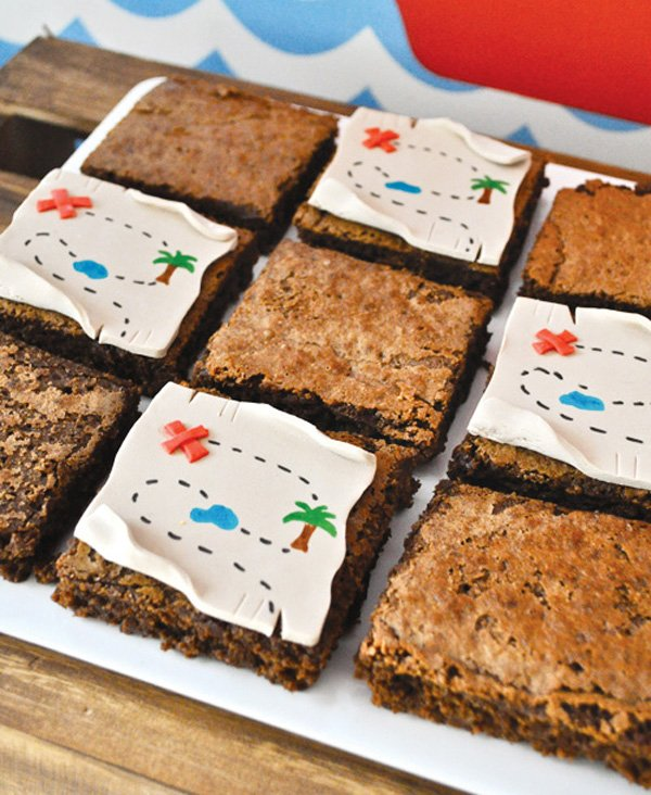 brownie map toppers