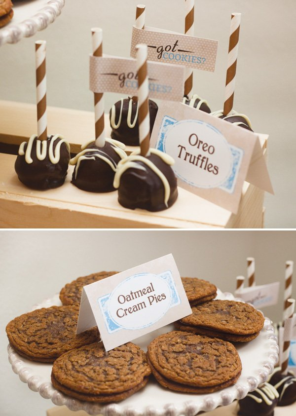 cookies and milk birthday party ideas