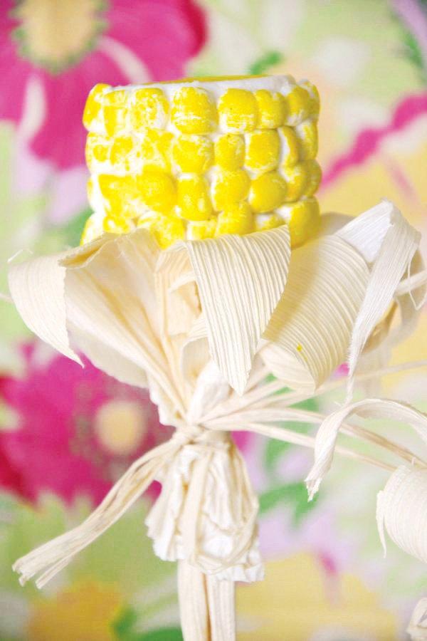 corn husk marshmallow dessert