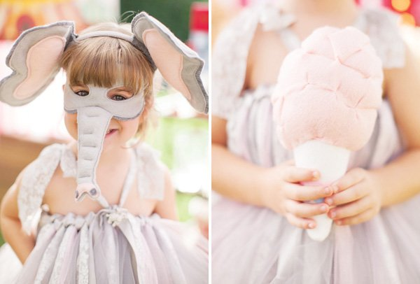cute elephant kids costume
