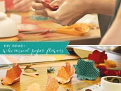 diy paper flowers tutorial
