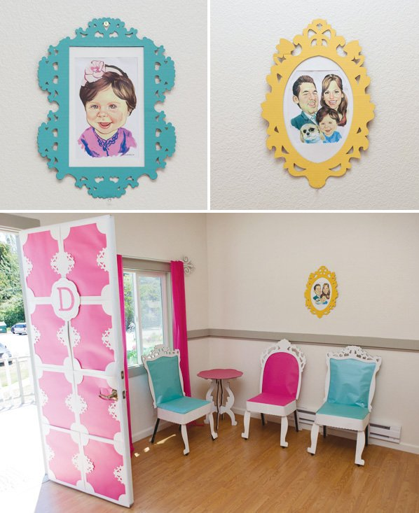 dollhouse paper frames