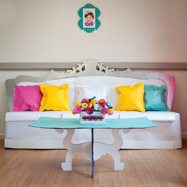 dollhouse party laser cute couch and coffee table
