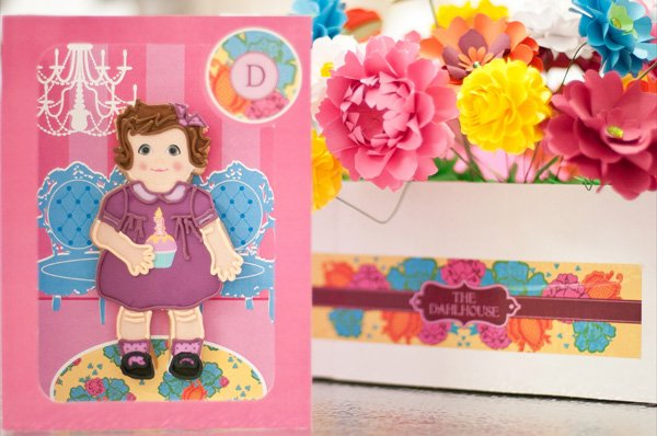 dollhouse party cookie favor box