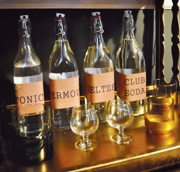 drinks in glass bottles