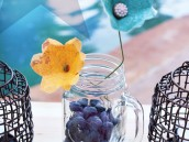 easy mason jar centerpiece idea