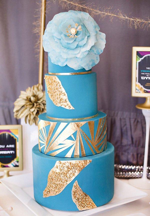 effie trinket inspired cake