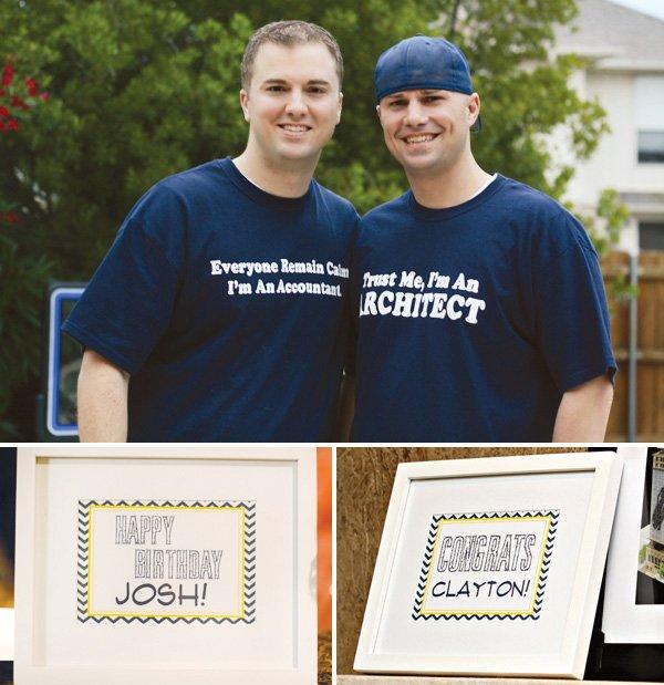 graduation and birthday t-shirts