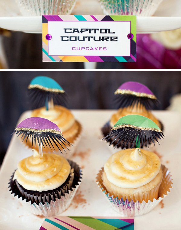 hunger games party capitol dessert ideas