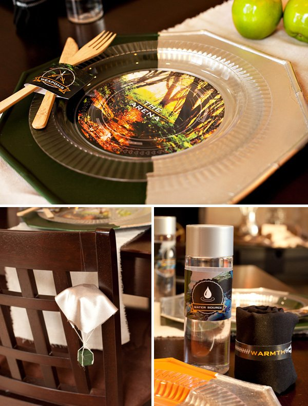 hunger games table settings