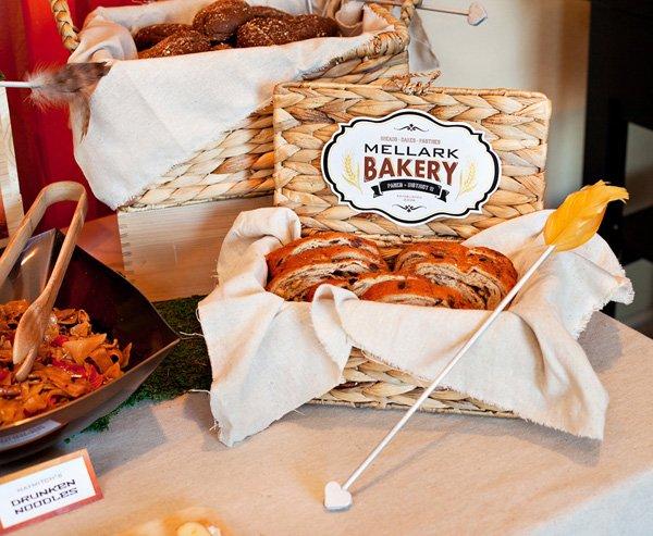 hunger games - mellark bakery sign
