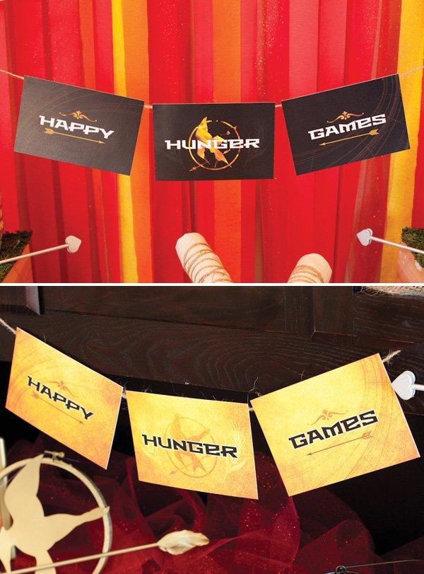 hunger games free printable banner