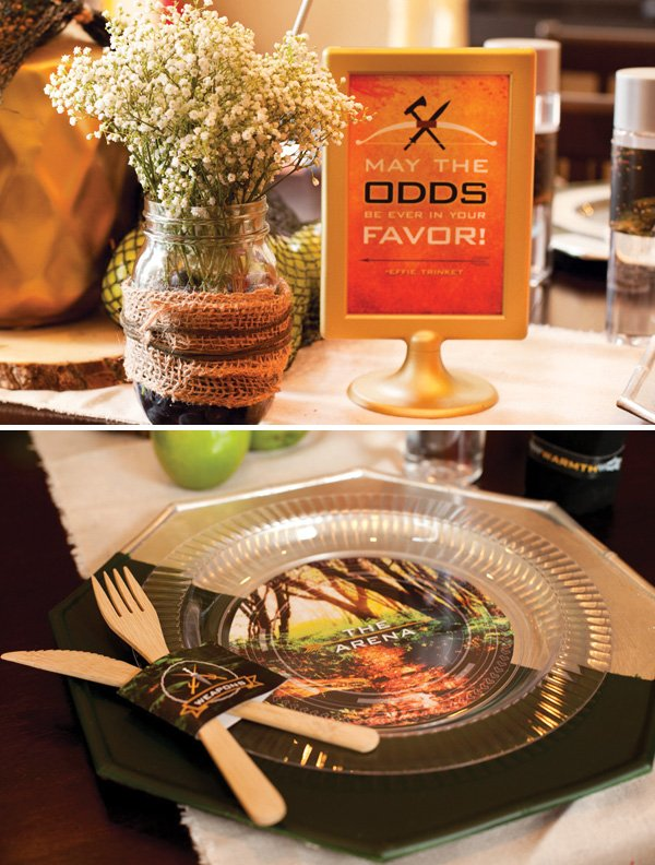 Hunger Games - free party printables from Hostess with the Mostess