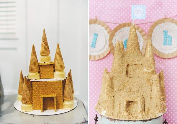 ice cream cone castle