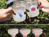 labor day cocktails + free patriotic party printables