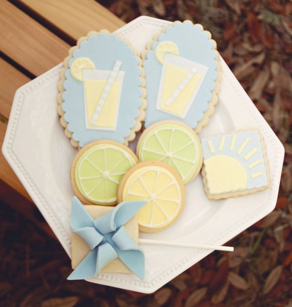 lemon and lime sugar cookies