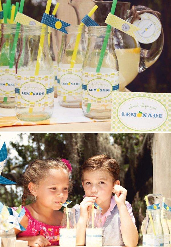 lemonade glass bottles