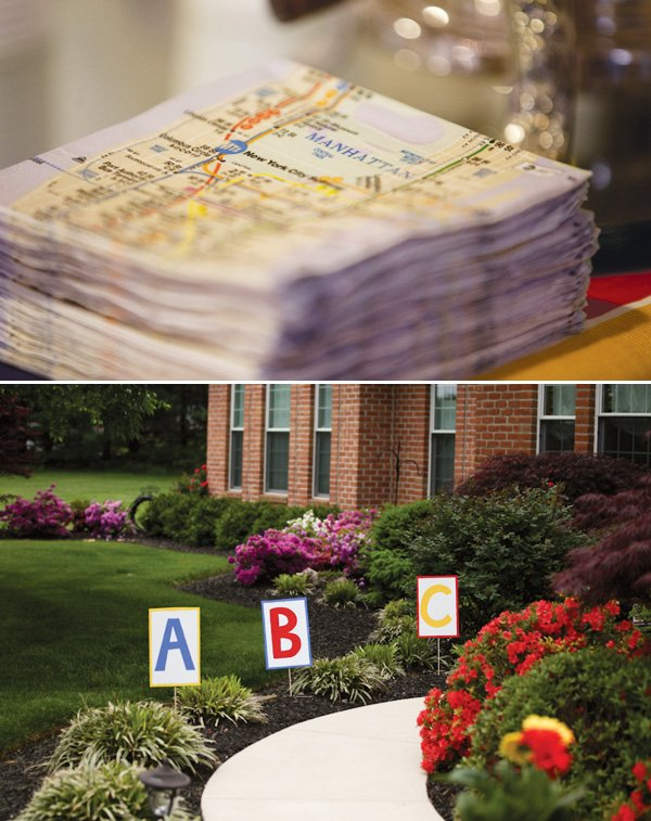 manhattan napkins for a cinco de mayo baby shower