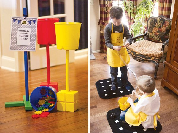 master builder lego birthday party games