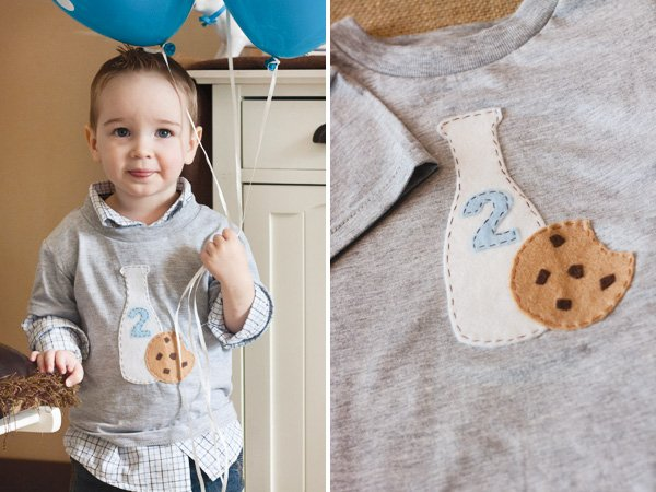 milk and cookies shirt