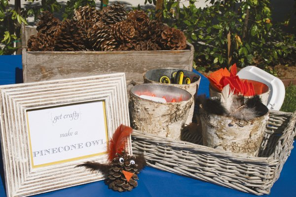 modern nature inspired party activity ideas