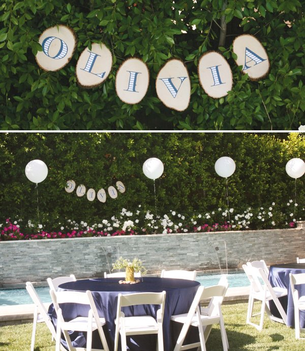 modern nature inspired party bunting