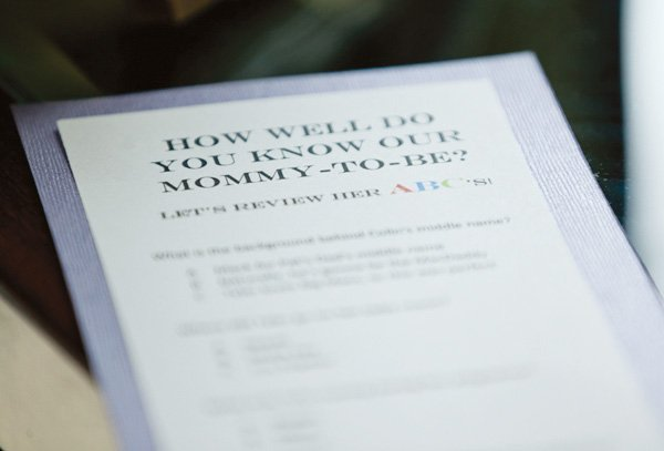 mommy to be quiz