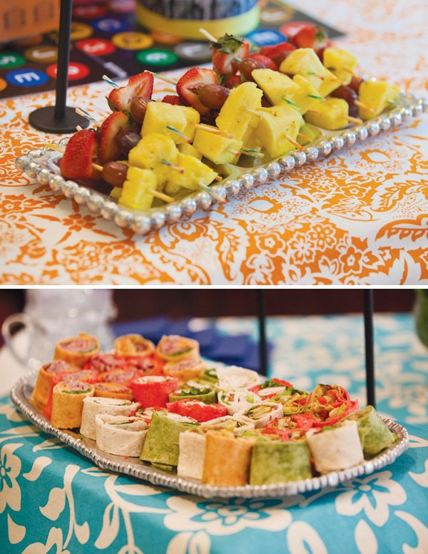 new york city baby shower food