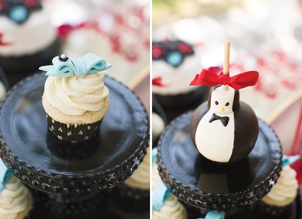 Penguin dessert idea