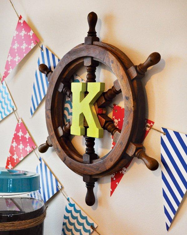pirate Neverland ship wall decor