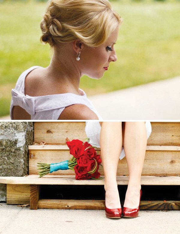 retro bride ideas