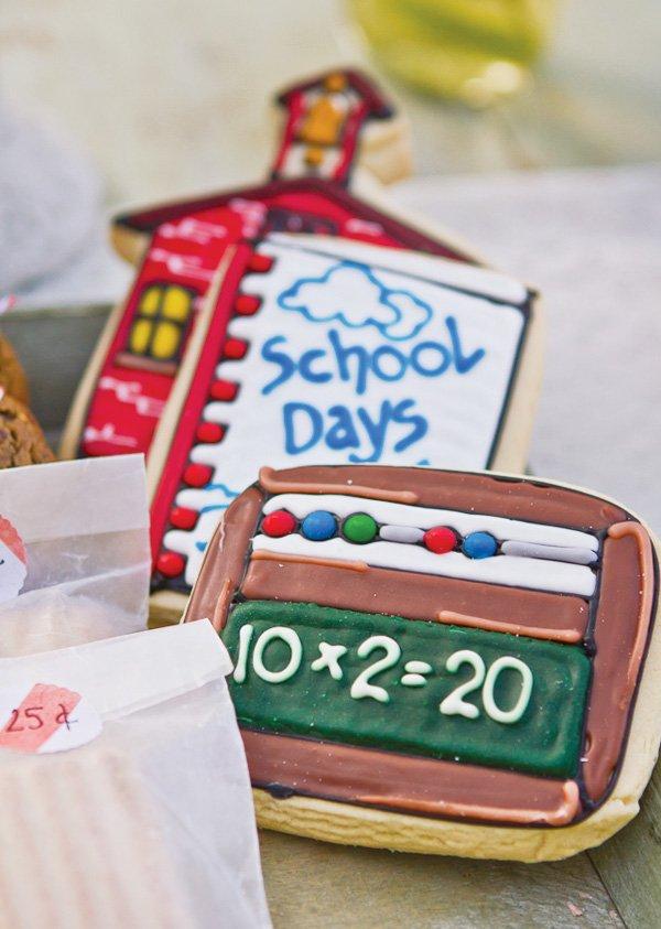 school house cookies