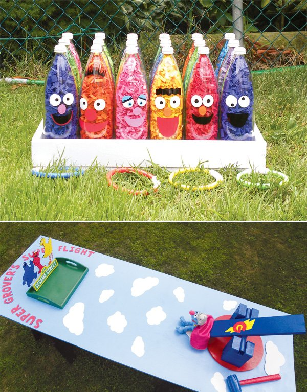 Kids Carnival Games Homemade The Image
